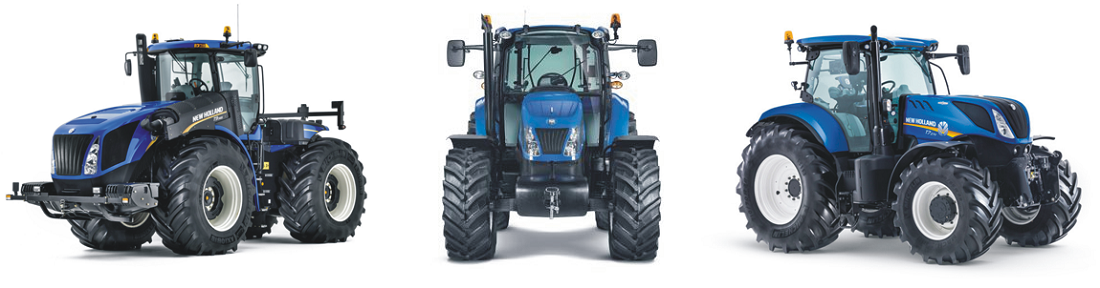 Тракторы New Holland